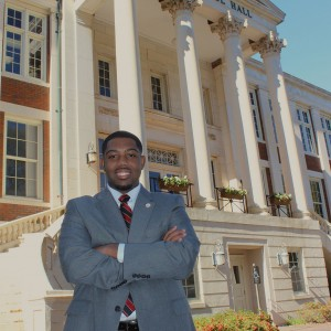 Undre Phillips helped found the Kick Start College program, which introduces middle school students to UA.