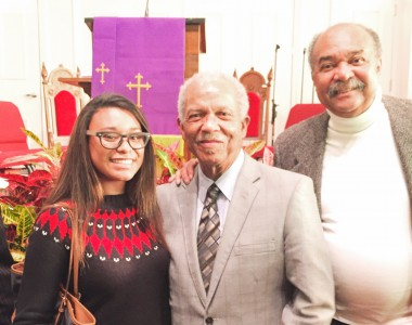 Through her work with Crossroads, Navarro had the opportunity to meet and talk with some local Freedom Riders during an event hosted in February for African American Heritage Month.